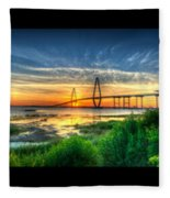 Bridge 3 Fleece Blanket