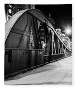 Bridge Arches Fleece Blanket