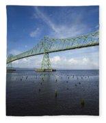 Bridge Astoria Or 2 A Fleece Blanket