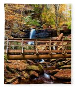 Bridge By B Reynolds Falls Fleece Blanket
