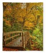Bridge To Eden Fleece Blanket