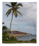 Bridge To Paradise Fleece Blanket