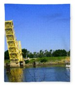Bridge Up 4 Safe Passage Fleece Blanket