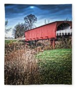 Bridges Of Madison County Fleece Blanket