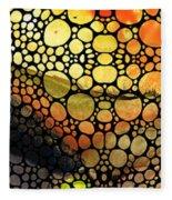 Bridging The Gap - Stone Rock'd Art Print Fleece Blanket
