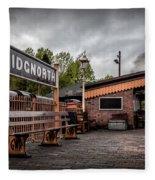 Bridgnorth Railway Station Fleece Blanket
