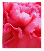 Bright Carnation Fleece Blanket