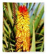 Bright Flower 2 Fleece Blanket