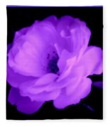 Bright Purple Perfection Fleece Blanket