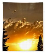 Brilliance  Fleece Blanket