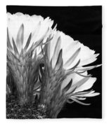 Brilliant Blossoms Diptych Right Fleece Blanket