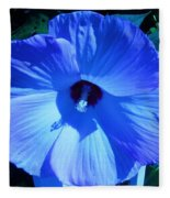 Brilliant Blue Fleece Blanket