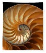 Brilliant Nautilus Fleece Blanket