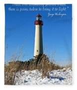 Bring Truth To Light  Fleece Blanket