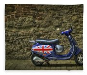 British At Heart Fleece Blanket