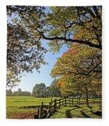 British Autumn Fleece Blanket
