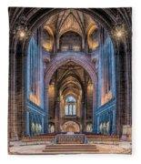 British Cathedral Fleece Blanket