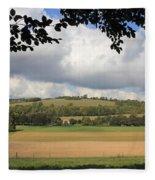 British Countryside Sussex Uk Fleece Blanket