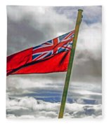 British Merchant Navy Flag Fleece Blanket
