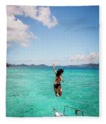 British Virgin Islands, Caribbean Fleece Blanket