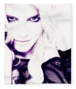 Britney Spears Fleece Blanket