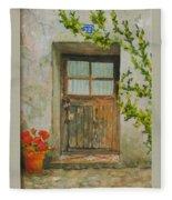 Brittany  Door Fleece Blanket