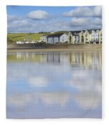Broad Haven Clouds Fleece Blanket