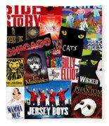 Broadway 1 Fleece Blanket