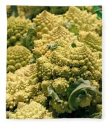 Broccoflower Fleece Blanket