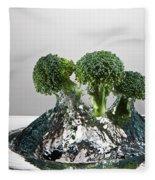 Broccoli Freshsplash Fleece Blanket
