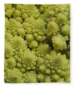 Broccoli Heirloom Fleece Blanket