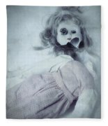 Broken Doll Fleece Blanket