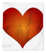 Broken Heart Fleece Blanket