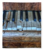 Broken Keys Fleece Blanket