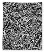 Broken Twigs Fleece Blanket