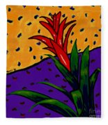 Bromeliad Fleece Blanket