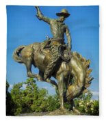 Bronco Buster - Denver Fleece Blanket