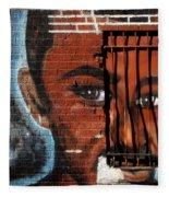 Bronx Graffiti - 2 Fleece Blanket