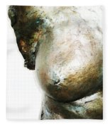 Bronze Bust 1 Fleece Blanket