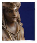 Bronze Lady Fleece Blanket