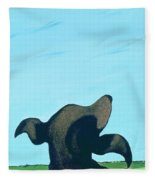 Bronze Profile #2, 1997 Fleece Blanket