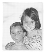 Brooke And Carter Fleece Blanket