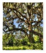 Brookgreen Gardens Fleece Blanket
