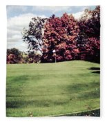 Brookhill Golf Course Fleece Blanket