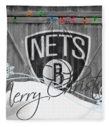 Brooklyn Nets Fleece Blanket