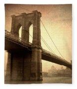 Brooklyn Nostalgia II Fleece Blanket