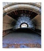 Brooklyn Prospect Park Tunnel Fleece Blanket