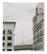 The Beauty Of New York Fleece Blanket