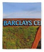 Brooklyn's Barclays Fleece Blanket