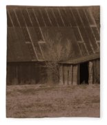 Brown Barns Fleece Blanket
